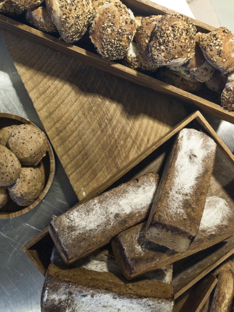 Ulike sorter brød og rundstykker